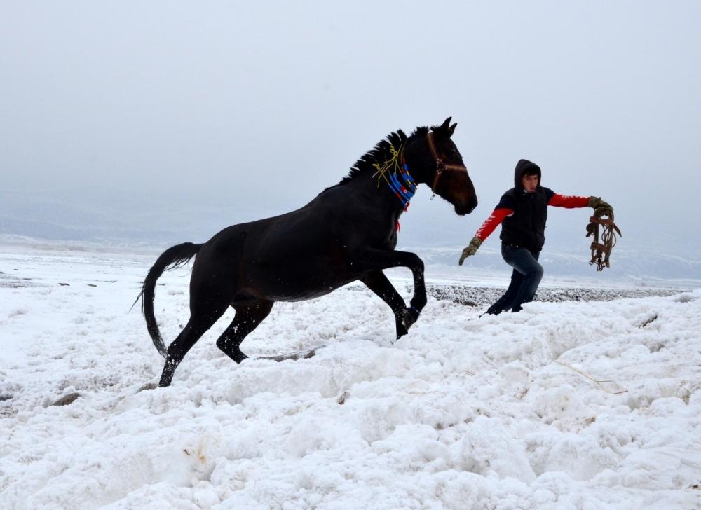 Manda ve Atlarını Kaplıca Sularında Yıkıyorlar galerisi resim 16