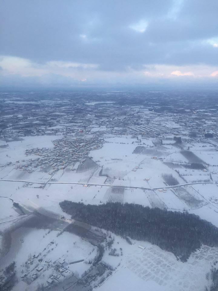 Samsun Çarşamba Kar Altında Hava Fotoğrafları galerisi resim 1