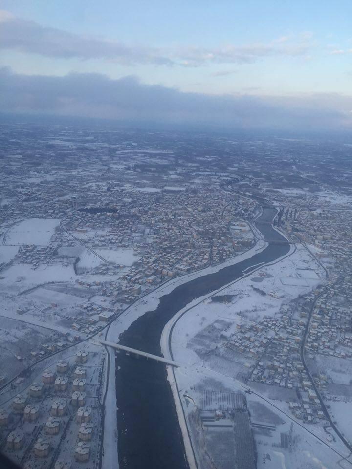 Samsun Çarşamba Kar Altında Hava Fotoğrafları galerisi resim 12