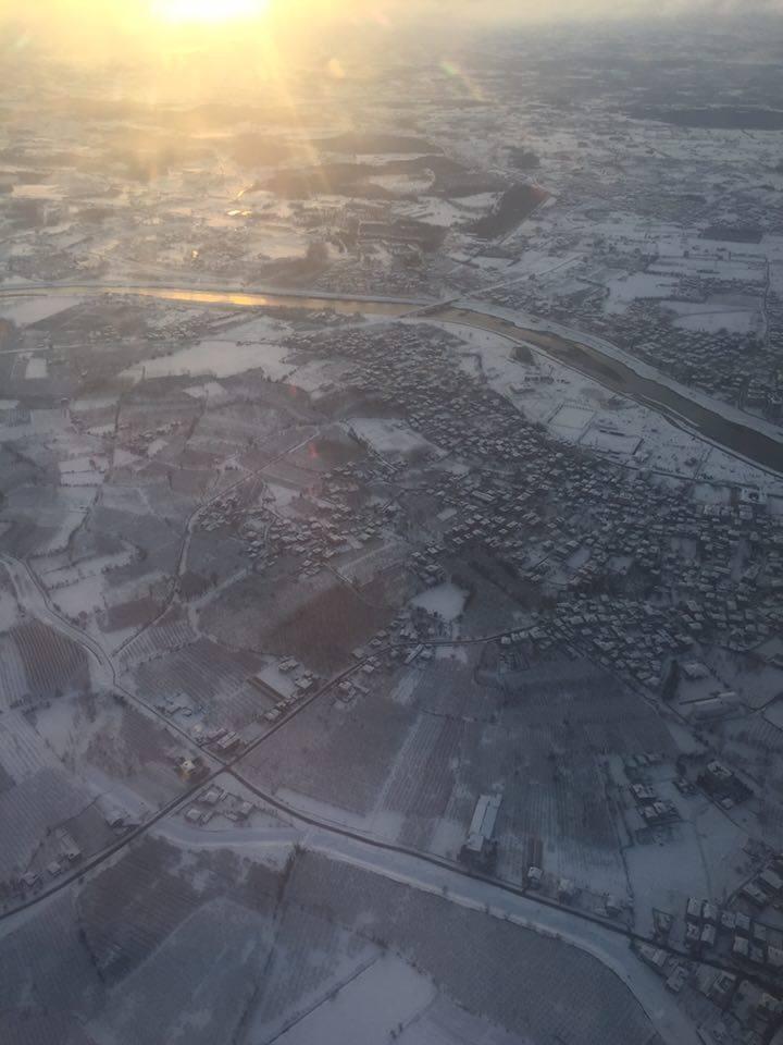Samsun Çarşamba Kar Altında Hava Fotoğrafları galerisi resim 16