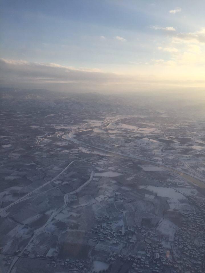 Samsun Çarşamba Kar Altında Hava Fotoğrafları galerisi resim 19