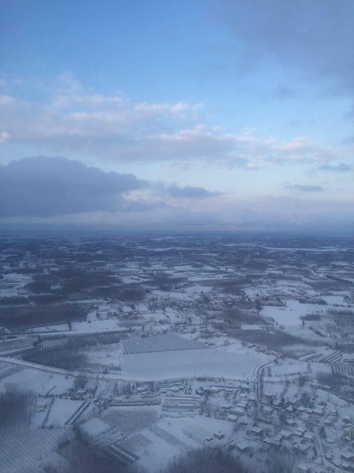 Samsun Çarşamba Kar Altında Hava Fotoğrafları galerisi resim 2