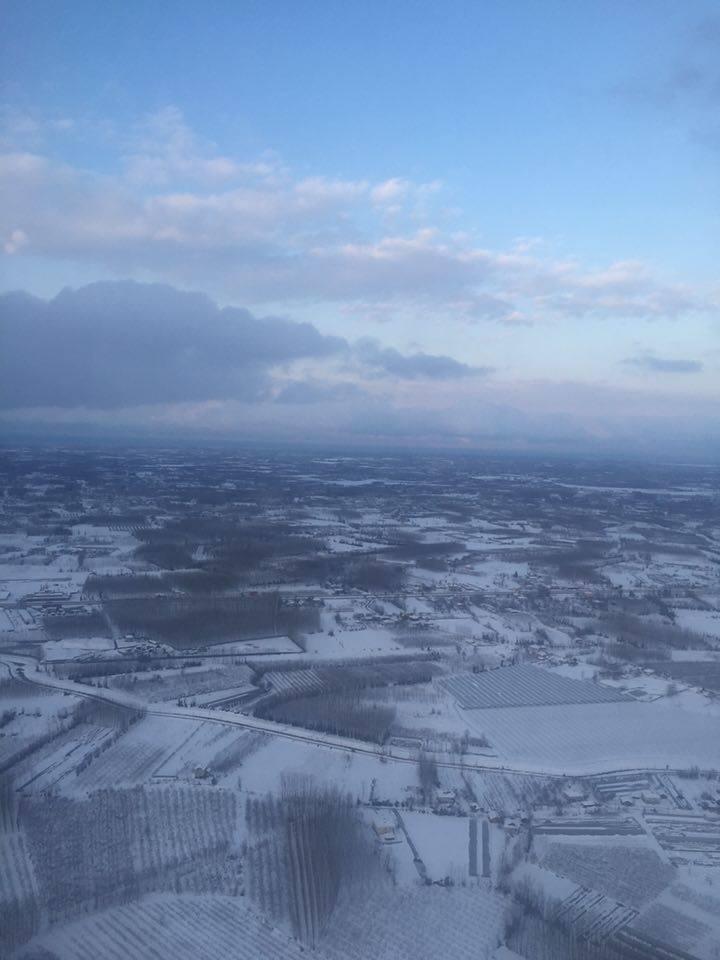 Samsun Çarşamba Kar Altında Hava Fotoğrafları galerisi resim 6