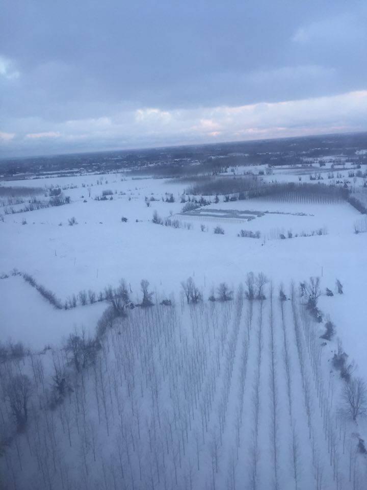 Samsun Çarşamba Kar Altında Hava Fotoğrafları galerisi resim 7