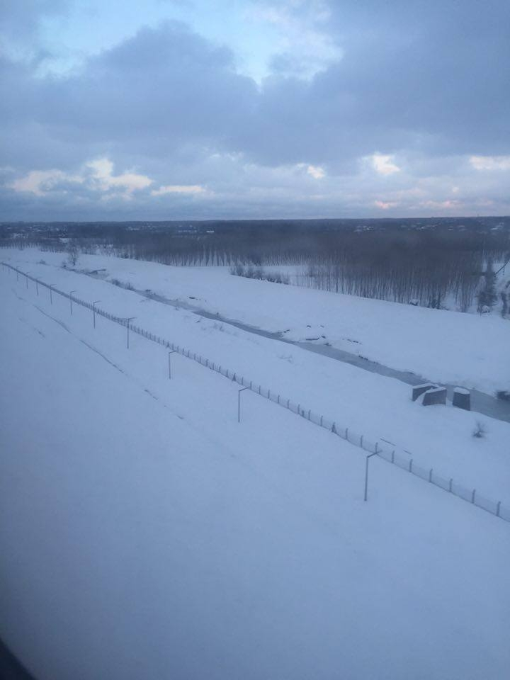 Samsun Çarşamba Kar Altında Hava Fotoğrafları galerisi resim 8