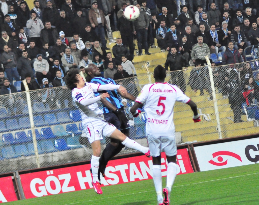 Samsunspor - Adana Demirspor Maçından Kareler galerisi resim 4