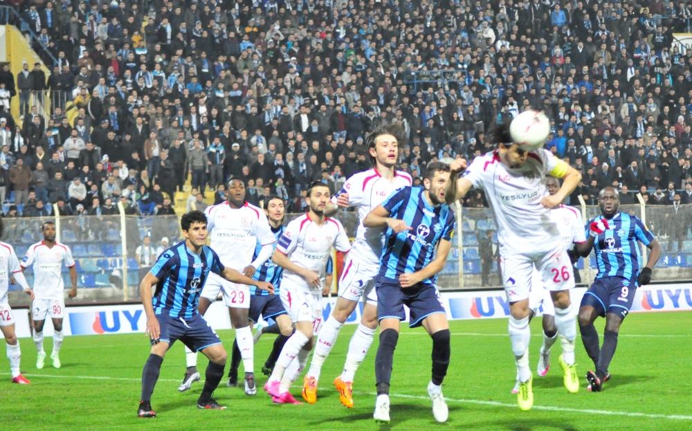 Samsunspor - Adana Demirspor Maçından Kareler galerisi resim 5