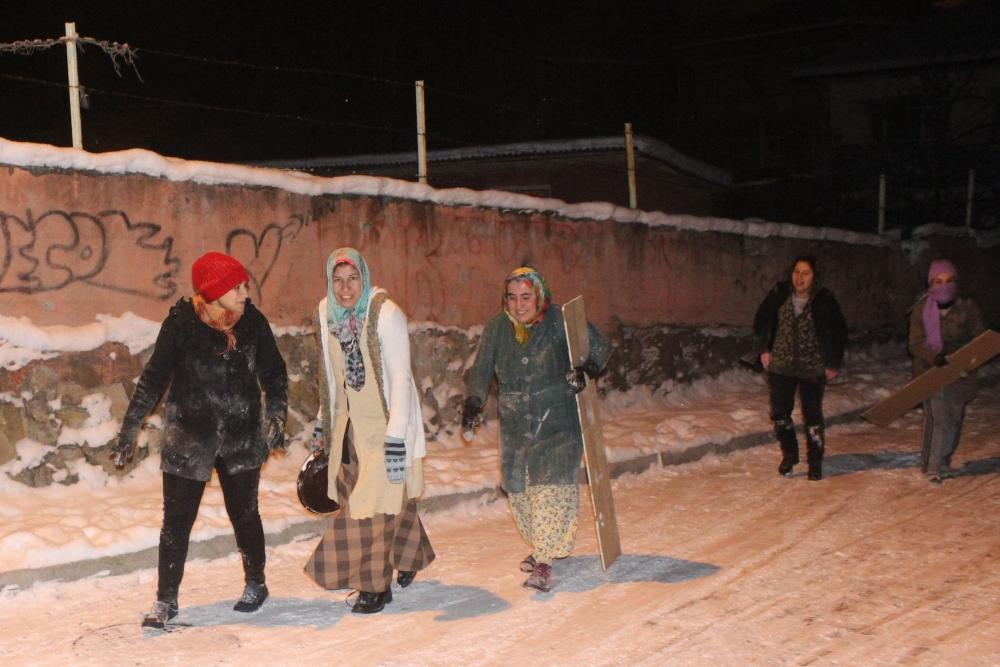 Samsun'da Kar Eğlencesi Yaş Tanımıyor galerisi resim 7