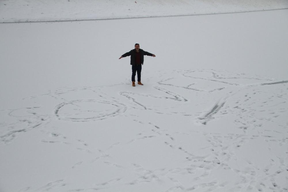 Samsun Ladik Gölü Dondu galerisi resim 2