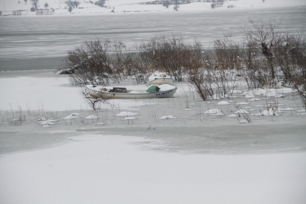 Samsun Ladik Gölü Dondu galerisi resim 8