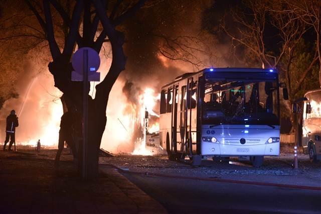 Ankara'da terör saldırısı (17.02.2015) galerisi resim 13
