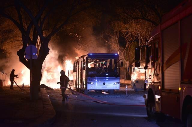 Ankara'da terör saldırısı (17.02.2015) galerisi resim 14