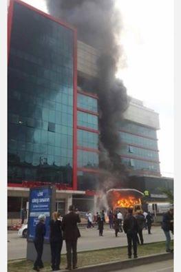 Samsun Medical Park Hastanesi'ndeki Yangından Kareler galerisi resim 3