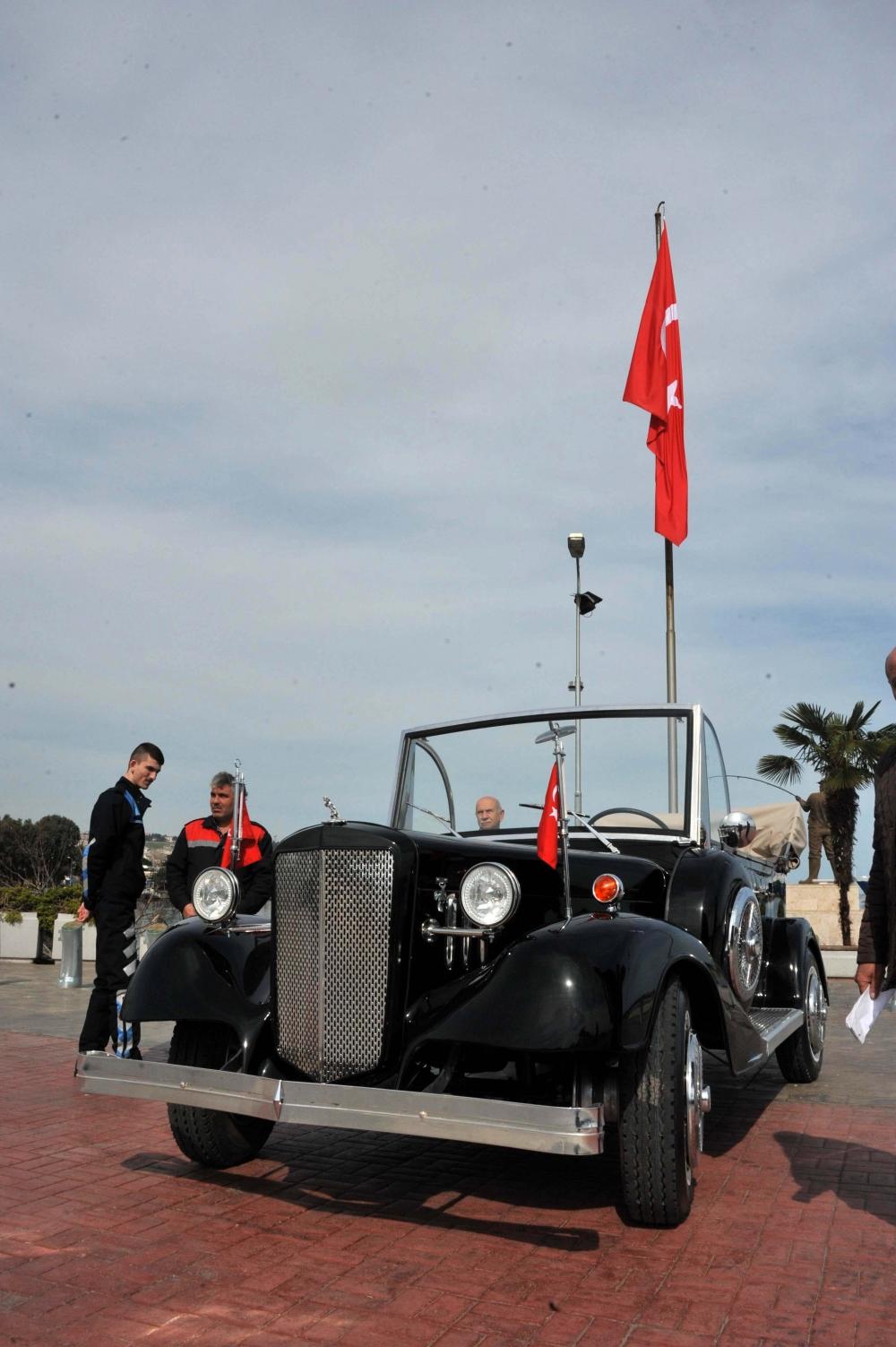 Samsunlu Usta Atatürk'ün Aracının Aynısını Yaptı galerisi resim 14