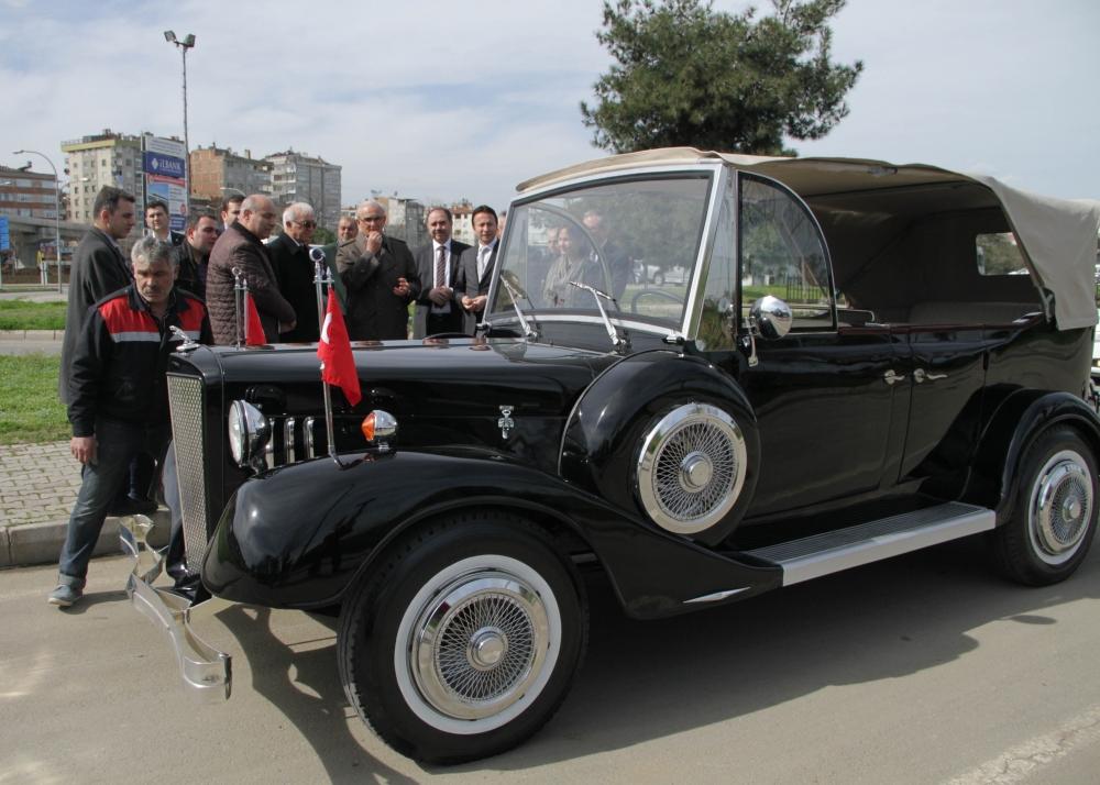 Samsunlu Usta Atatürk'ün Aracının Aynısını Yaptı galerisi resim 23