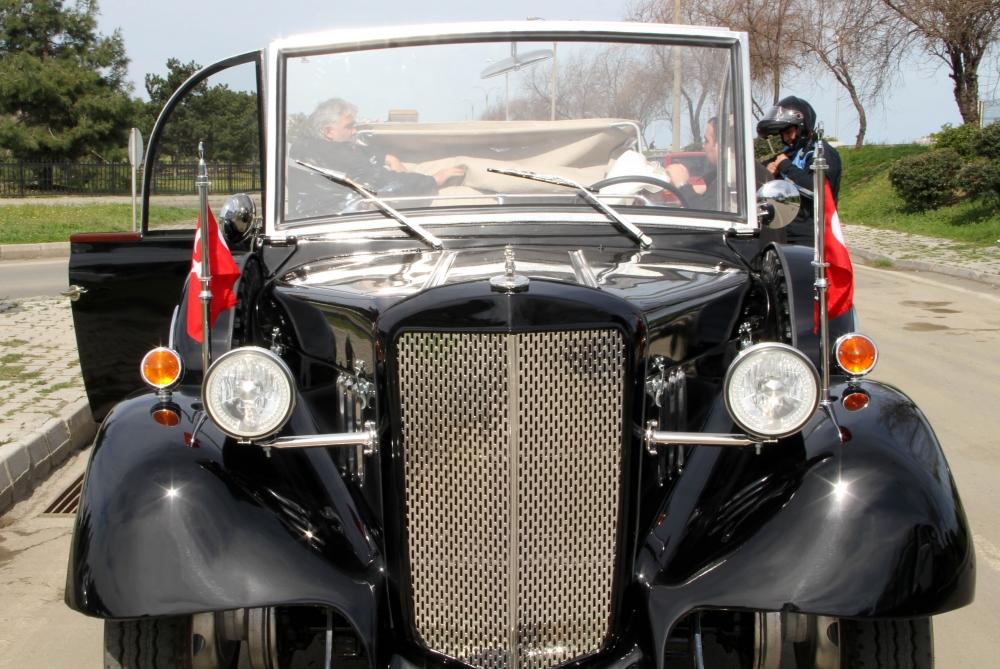 Samsunlu Usta Atatürk'ün Aracının Aynısını Yaptı galerisi resim 25