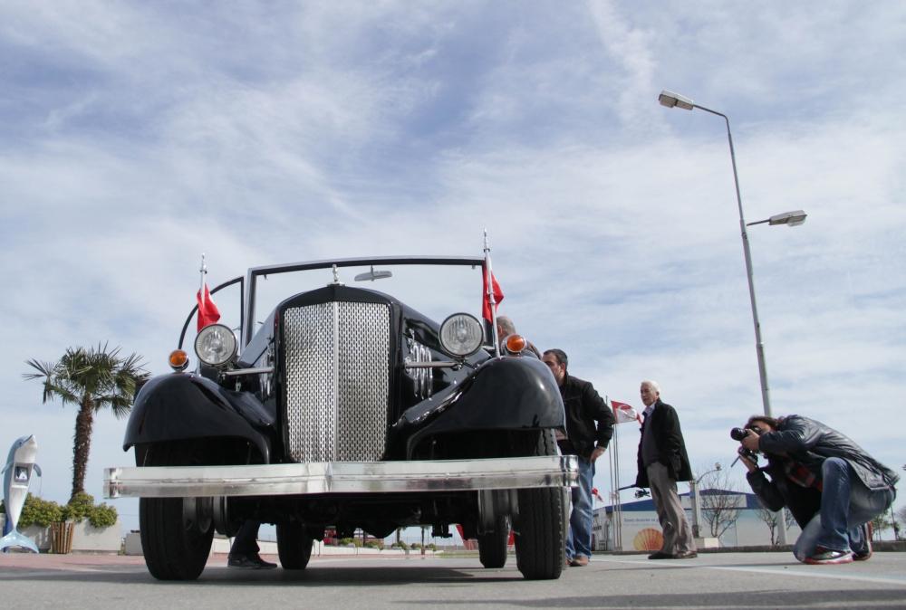 Samsunlu Usta Atatürk'ün Aracının Aynısını Yaptı galerisi resim 15