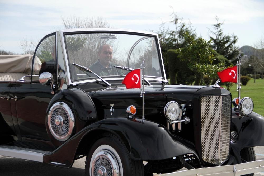 Samsunlu Usta Atatürk'ün Aracının Aynısını Yaptı galerisi resim 27