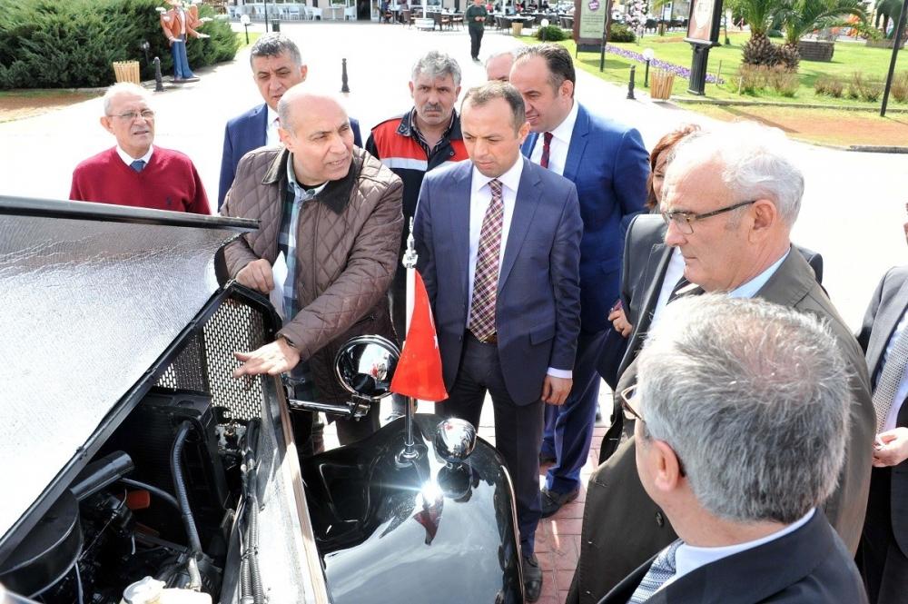 Samsunlu Usta Atatürk'ün Aracının Aynısını Yaptı galerisi resim 7