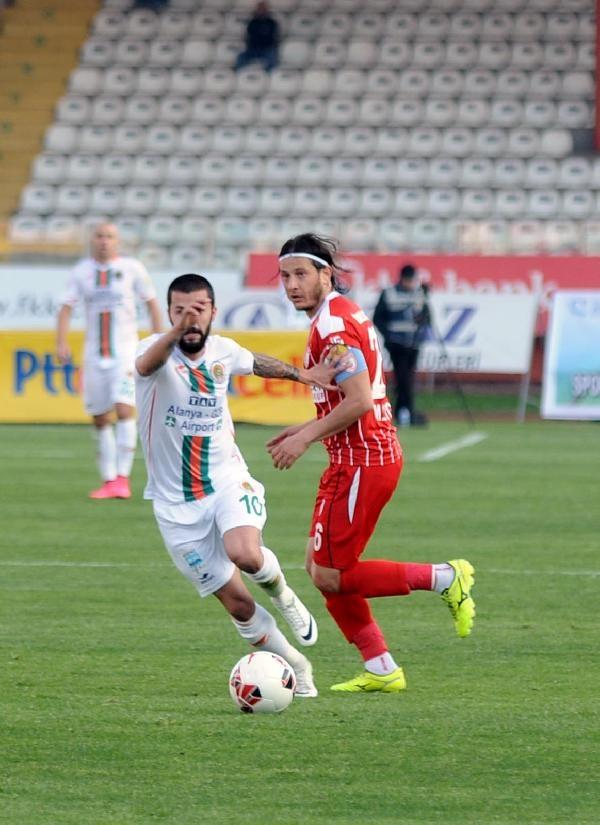 Samsunspor- Alanyaspor Maçından Kareler galerisi resim 13