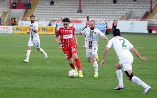Samsunspor- Alanyaspor Maçından Kareler galerisi resim 14