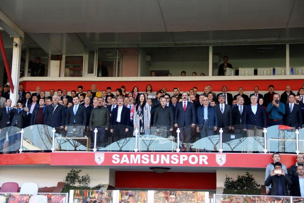 Samsunspor- Alanyaspor Maçından Kareler galerisi resim 6