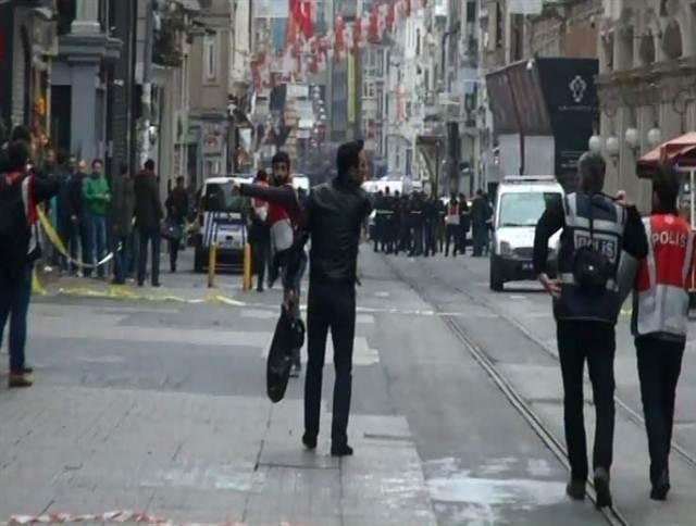 İstiklal Caddesi'nde Patlama (19.03.2016) galerisi resim 5
