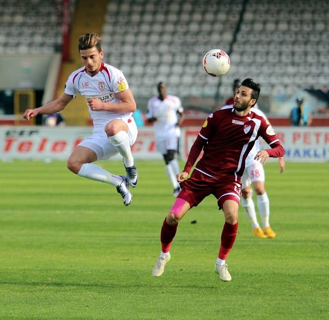 Samsunspor - Vartaş Elazığspor Maçından Kareler galerisi resim 2