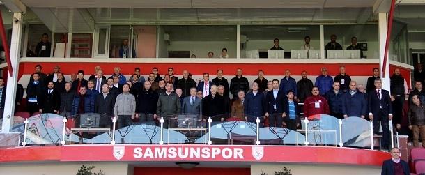 Samsunspor - Vartaş Elazığspor Maçından Kareler galerisi resim 5