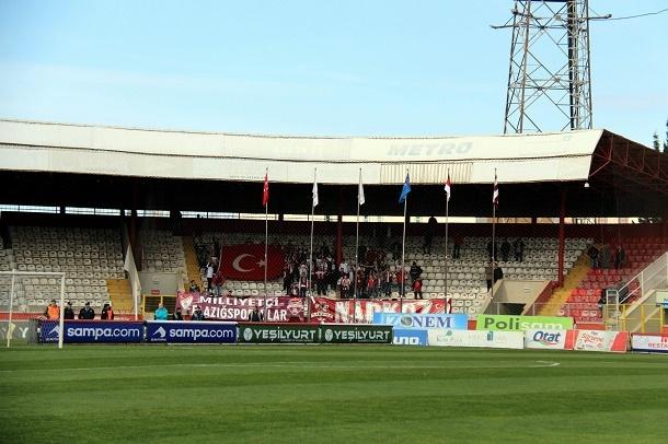 Samsunspor - Vartaş Elazığspor Maçından Kareler galerisi resim 6
