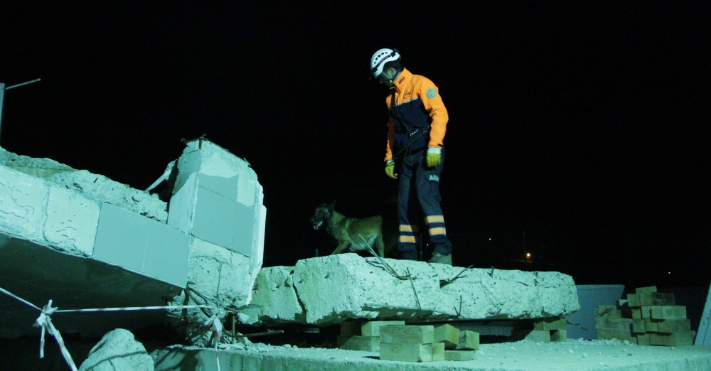 """Samsun'da  """"Azerbaycan"""" Kodlu Deprem Tatbikatı galerisi resim 11"""