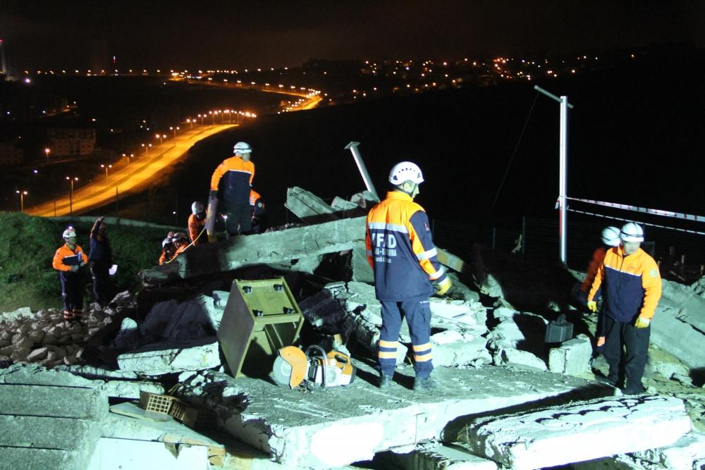 """Samsun'da  """"Azerbaycan"""" Kodlu Deprem Tatbikatı galerisi resim 14"""