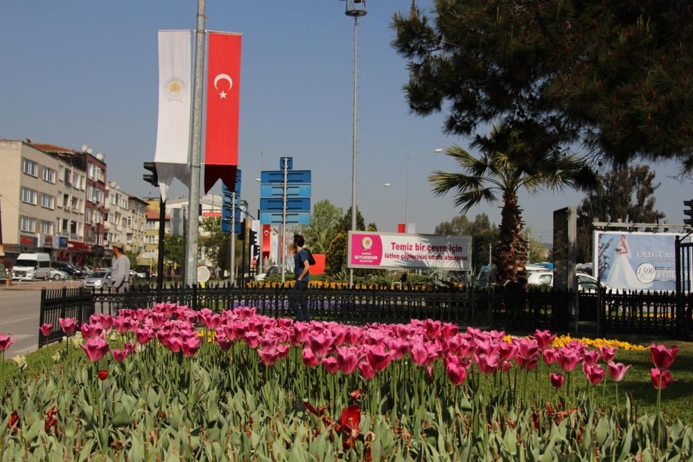 Samsun'da Bahar Yüzünü Gösterdi galerisi resim 2