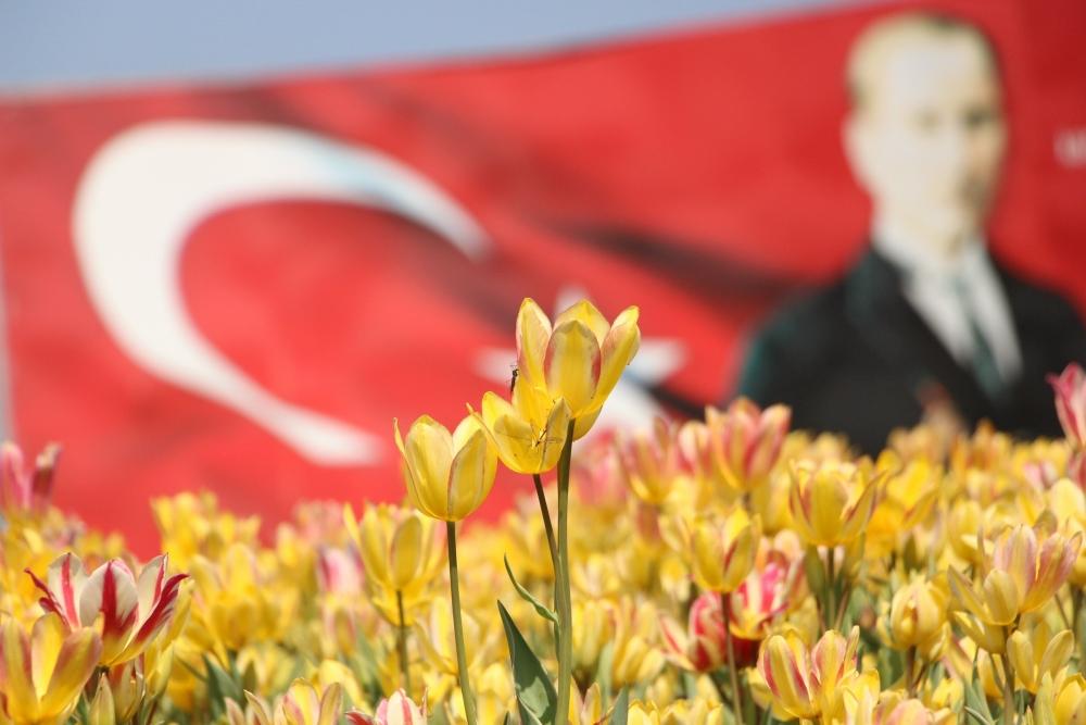 Samsun'da Bahar Yüzünü Gösterdi galerisi resim 3