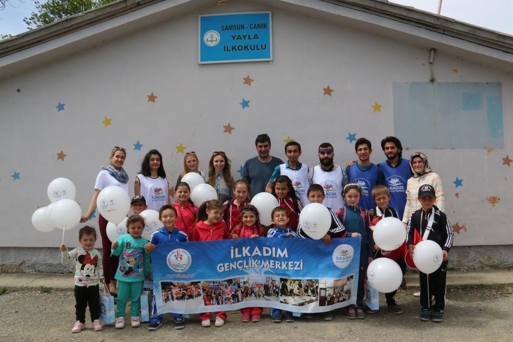 Samsun İlkadım Gençlik Merkezi İlkokulu Öğrencilerini Sevindirdi galerisi resim 15