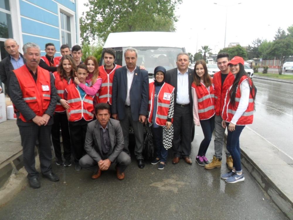 Türk Kızılayı Canik Şubesi Bir Oyuncak Bir Gülücük Kampanyası  Başlattı galerisi resim 10