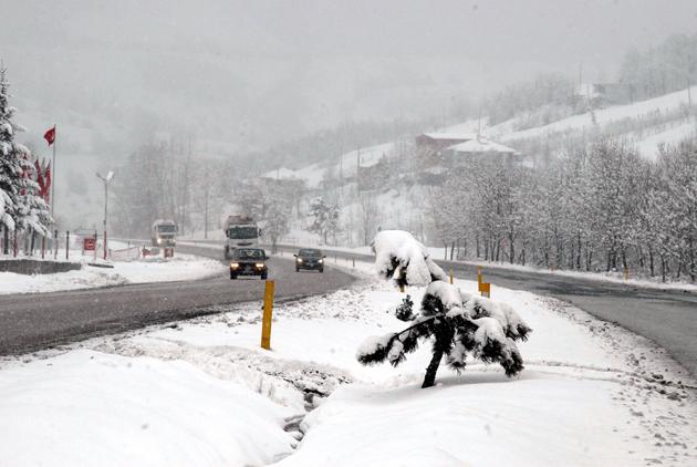Samsundan kar manzaraları galerisi resim 4