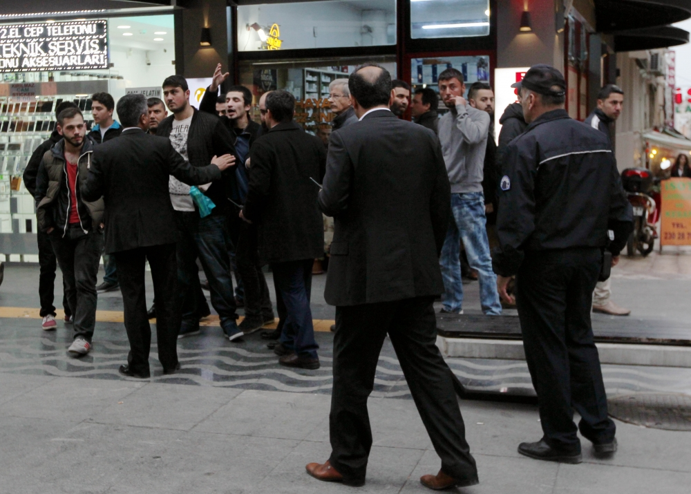 Samsun'da Tehlikeli Gerginlik 7 Gözaltı galerisi resim 11