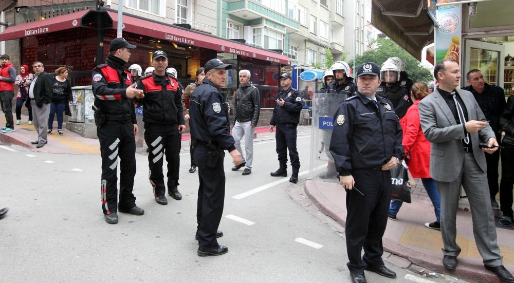 Samsun'da Tehlikeli Gerginlik 7 Gözaltı galerisi resim 12