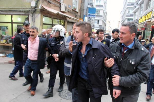 Samsun'da Tehlikeli Gerginlik 7 Gözaltı galerisi resim 2