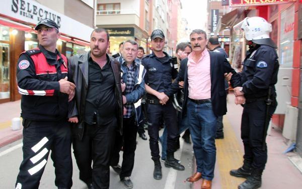 Samsun'da Tehlikeli Gerginlik 7 Gözaltı galerisi resim 4