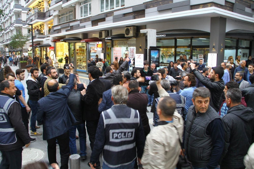 Samsun'da Tehlikeli Gerginlik 7 Gözaltı galerisi resim 9