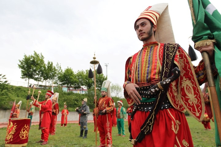 Samsun'da 13 Farklı Milletten Mehter Takımı Oluşturuldu galerisi resim 28
