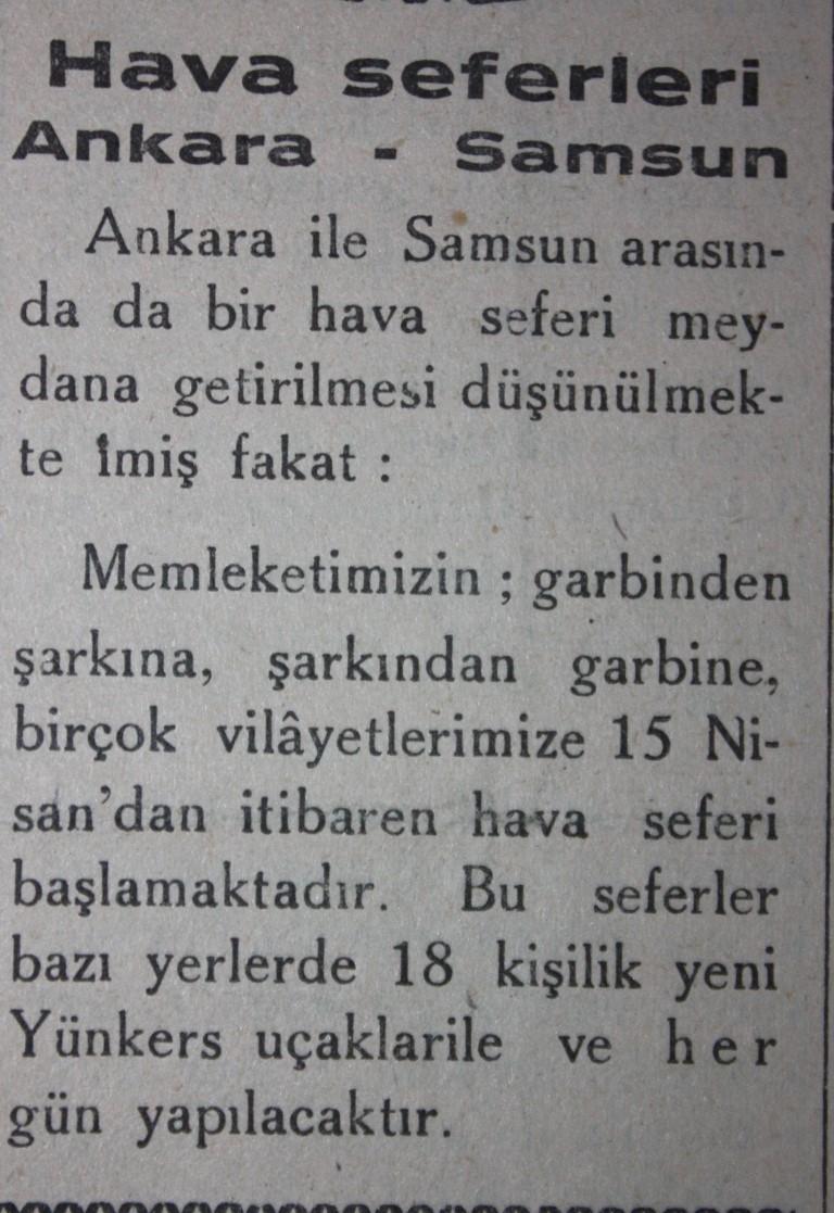 Samsun'un Geçmişine Bu Haberler Işık Tutuyor galerisi resim 26