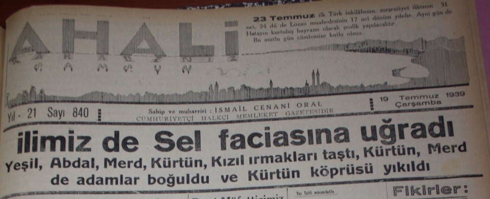 Samsun'un Geçmişine Bu Haberler Işık Tutuyor galerisi resim 44