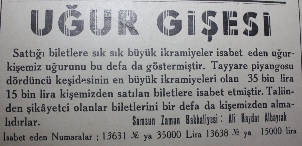 Samsun'un Geçmişine Bu Haberler Işık Tutuyor galerisi resim 49