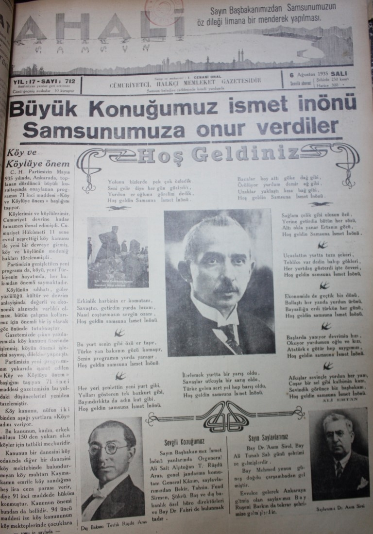 Samsun'un Geçmişine Bu Haberler Işık Tutuyor galerisi resim 53