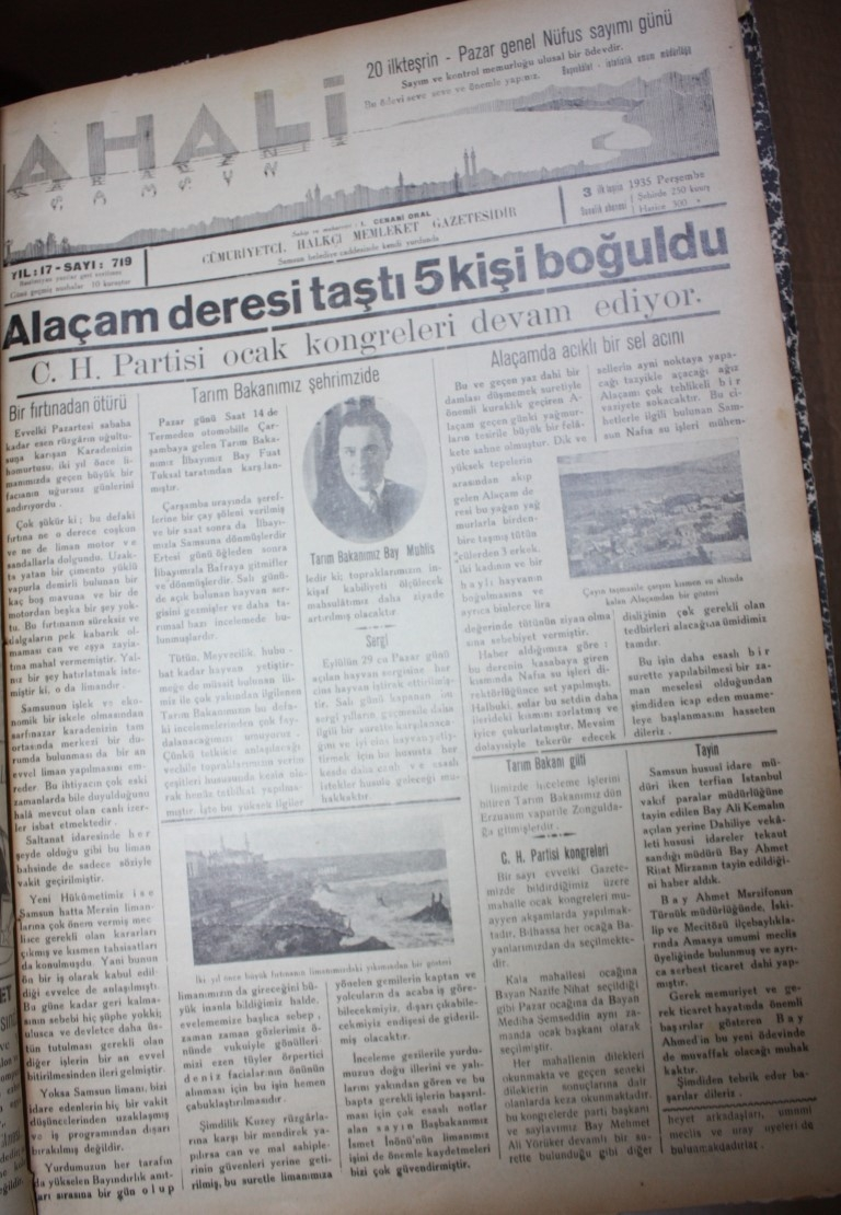 Samsun'un Geçmişine Bu Haberler Işık Tutuyor galerisi resim 54