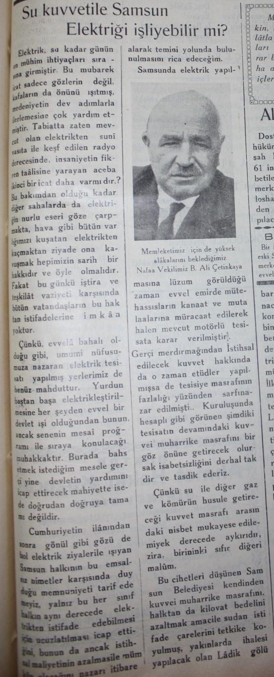 Samsun'un Geçmişine Bu Haberler Işık Tutuyor galerisi resim 58