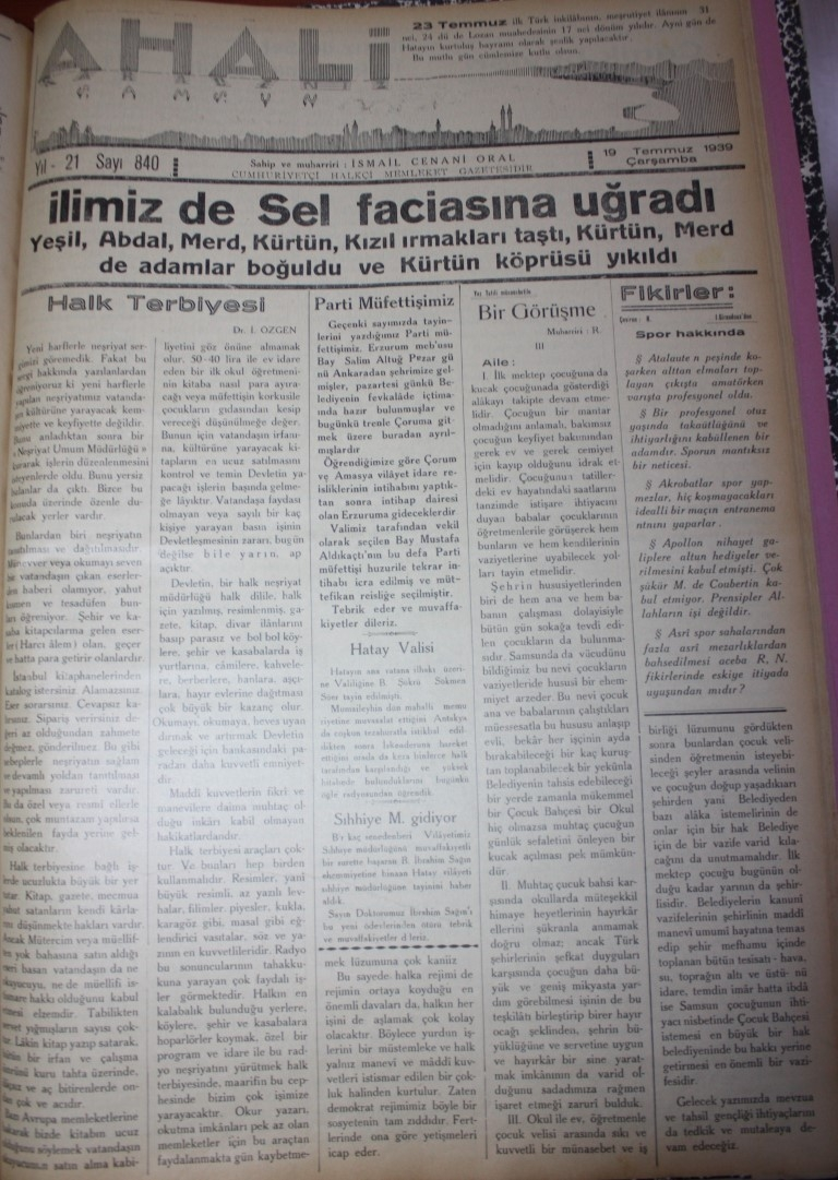 Samsun'un Geçmişine Bu Haberler Işık Tutuyor galerisi resim 61